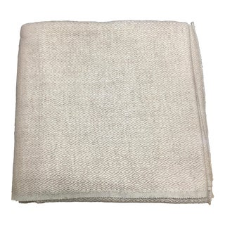 Diamond Design Cashmere Blend Blanket
