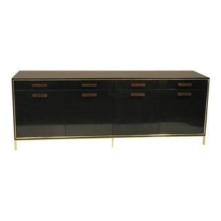 Brass Trim Harvey Probber Sideboard