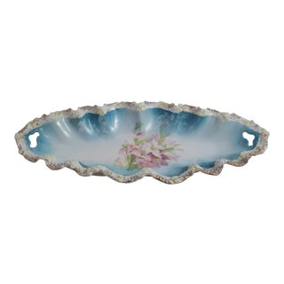 Floral Gilded Bone Dish