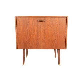 Danish Modern Teak Record Storage Cabinet