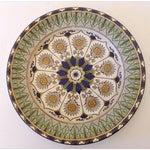 Image of Royal Doulton English Green & Gold Cyprus Plate