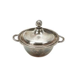 Ritz Carlton Silver Covered Bowl
