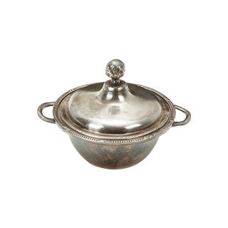 Ritz Carlton Silver Covered Bowl