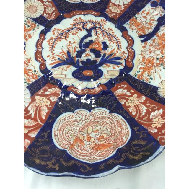 Japanese Imari Porcelain Charger - Image 6 of 10