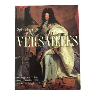 'Splendours of Versailles' Hardcover Book