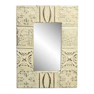 Mixed Pattern Tin Mirror