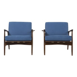 Set of Ib Kofod Larsen Lounge Chairs