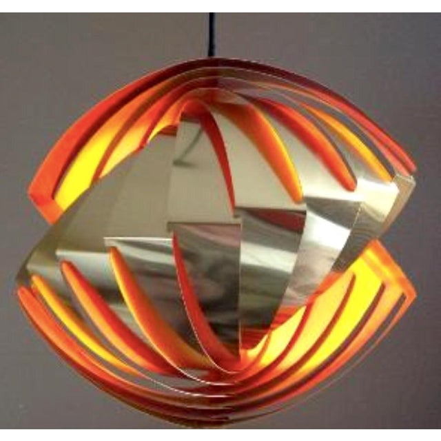 Image of Model Konkyle Ceiling Lamp by Louis Weisedorf