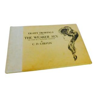 1903 Charles Dana Gibson 'The Weaker Sex' Eighty Drawings