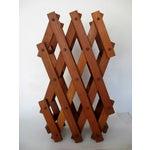 Image of Teak Wood Wine Rack