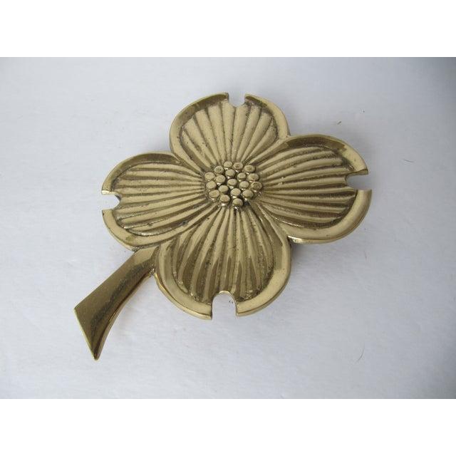 Brass Four Leaf Clover Trivet - Image 3 of 4