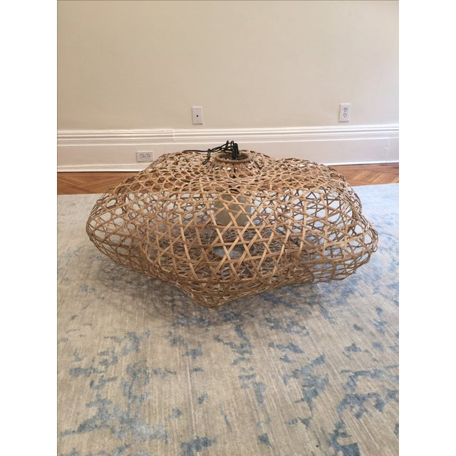 Serena and Lily Rattan Pendant Light - Image 3 of 5