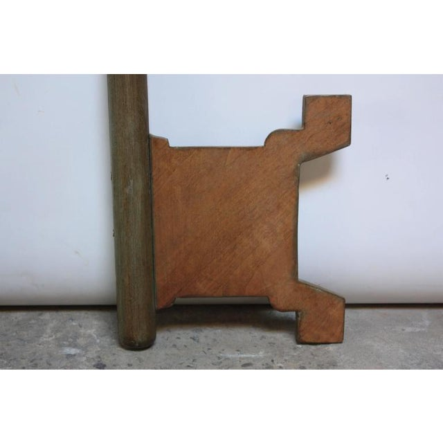 Monumental Mid-20th Century Folk Art Wooden 'Key' Trade Sign - Image 4 of 10