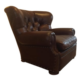 Ralph Lauren Leather Writer's Chair