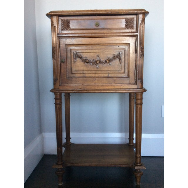 Antique Louis XV Style Nightstand - Image 2 of 5