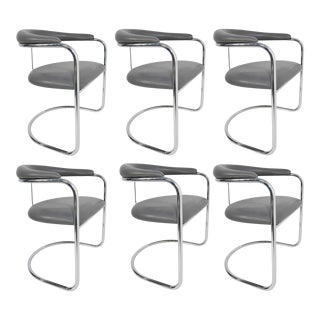 Anton Lorenz for Thonet Dining Chairs Model SS33