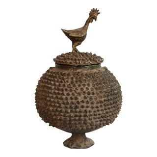 Burkina Faso Brass Lobi Pot