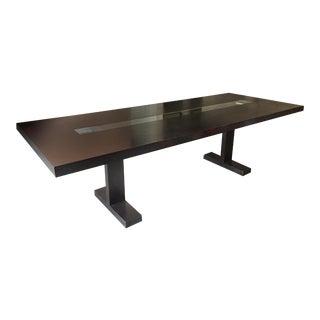 Italian Dark Oak Table