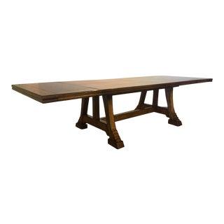 Century Furniture Trestle Dining Table