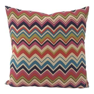 Modern Zigzag Handmade Pillow