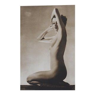 Vintage Art Deco Nude Photogravure