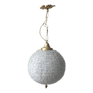 Pearl & Glass Sphere Chandelier