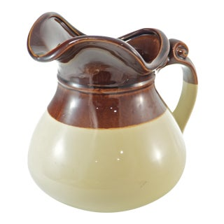 McCoy Two-Tone Farmhouse Jug