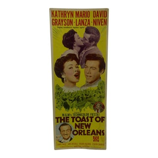 """Vintage Movie Poster """"Toast of New Orleans"""" 1950"""