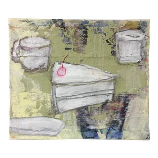 """Christine Bush Roman """"Piece of Cake"""" Painting"""