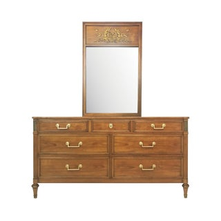 Belvedere Collection Double Dresser With Mirror by Kindel Furniture