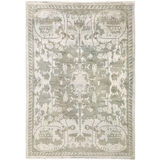 """Shalimar, Hand Knotted Area Rug - 4' 1"""" x 5' 10"""""""