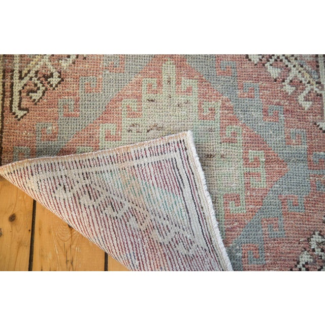 "Distressed Oushak Runner - 2'5"" X 7'5"" - Image 4 of 7"