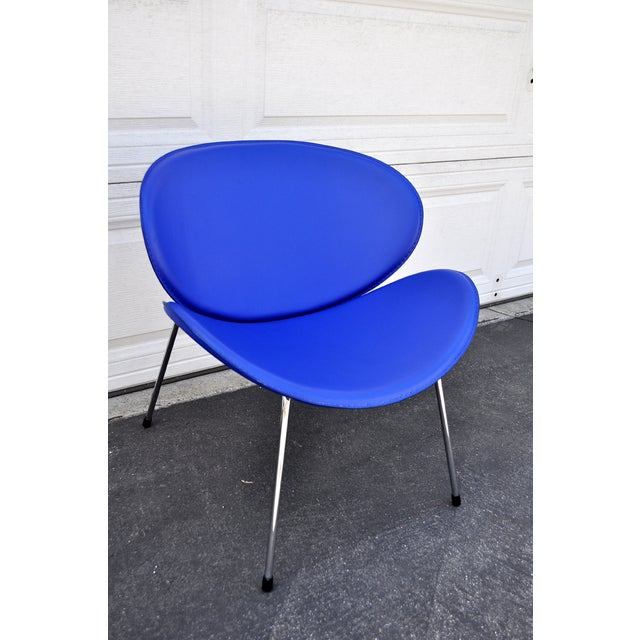 Blue Slice Chair - Image 2 of 4