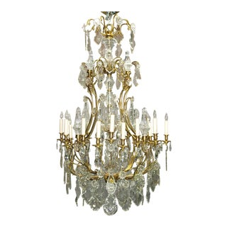 Antique chandelier by Baccarat