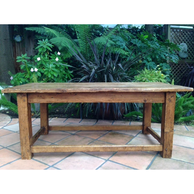 Antique Pine Coffee Tables: French Antique Pine Coffee Table