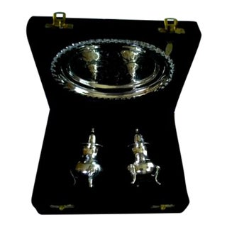 Int. Silver Co. Salt & Pepper Shakers - A Pair