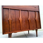 Image of Mid Century Modern Highboy Dresser