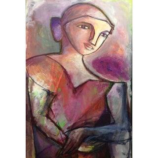 """Woman"", Acrylic Painting by Dan Balter"