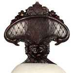 Image of 1870's Renaissance Style Hall Chair