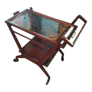 1950s Cesare Lacca Mid Century Modern Bar Cart