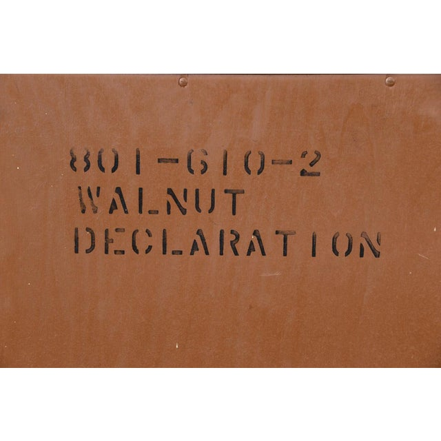 Image of Drexel Declaration Walnut Nightstands- A Pair