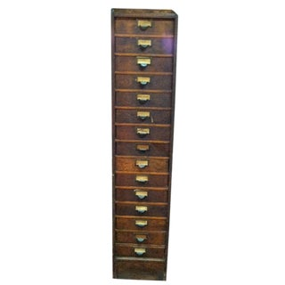 Globe-Wernicke Flat File Cabinet