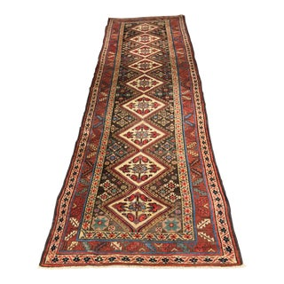 1880's Antique Persian Malayer Runner
