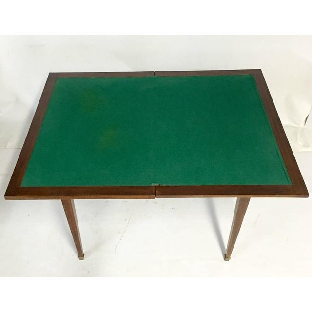 Antique Louis XVI French Marquetry Pivot Top Games & Card Table - Image 4 of 10