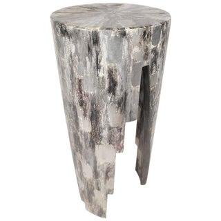 Vintage Modern Round Pedestal Table