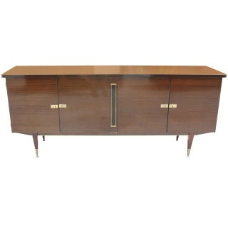 French Art Deco Mahogany Buffet