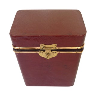 Vintage Leather Box