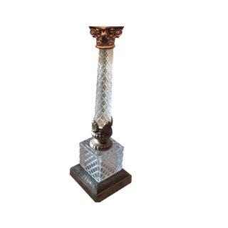 Neoclassical Cut-Crystal Lamp