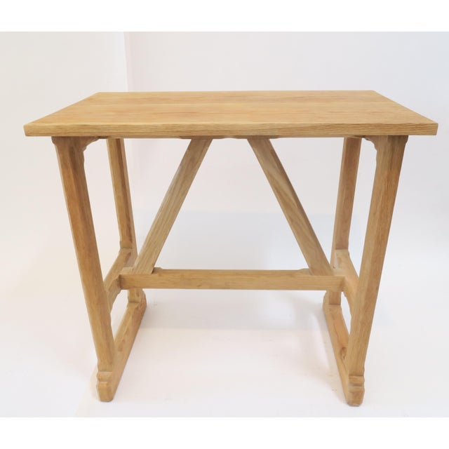 Image of Custom Trestle Wood Table