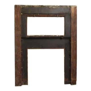 Double Decker Wood Mantel